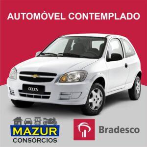 Auto Contemplado Bradesco Crédito R$ 33.400,00