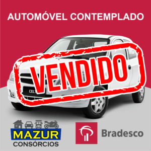 Auto Contemplado Bradesco Crédito R$ 61.250,00
